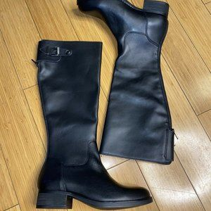 Steve Madden Edie Buckle Riding Knee High Boots